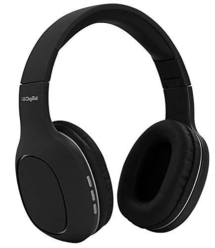 Renewed  Digitek Bluetooth Headphone  DBH005Black
