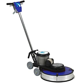 NaceCare NA1520 Heavy Duty Steel High Speed Floor Burnisher, 20  Brush, 1500 rpm, 1.5HP, 50  Power Cord Length