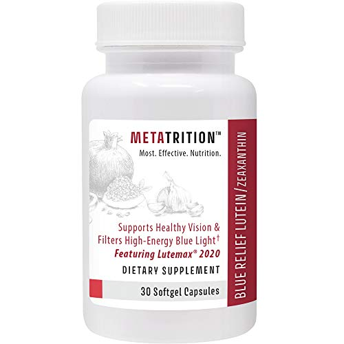 Metatrition Blue Relief Lutein/Zeaxanthin Nutritional Supplements, 30 Count (Cell Progressive Phone)
