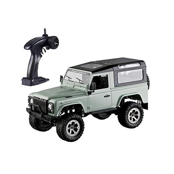 Goolsky FY003A 1/16 Fuoristrada Fuoristrada RC Auto RC Desert Buggy Truck 2.4GHz 4WD Telecomando ad Alta velocit¨¤ RTR… 1 spesavip