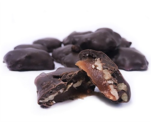 Dark Chocolate Turtles - Gourmet Pecan Caramel Clusters with Dark Chocolate by It's Delish, 2 lbs