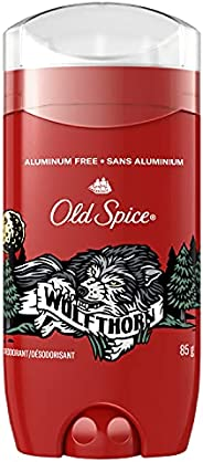 Old Spice Aluminum Free Deodorant for Men, Wolfthorn, 48 Hr. Protection, 85 g