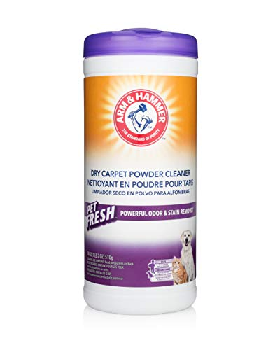 Arm & Hammer Pet Fresh Formula Dry Carpet Cleaner, 18 Ounce