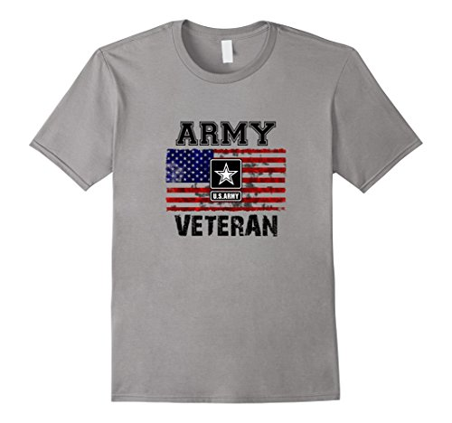 Mens US Army Veteran T-Shirt | Combat Veteran Military Sh...