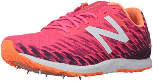 New Balance Women s 700V5 Removable Spike Track-Shoes, Alpha Pink Dark Mulberry, 8.5 B US