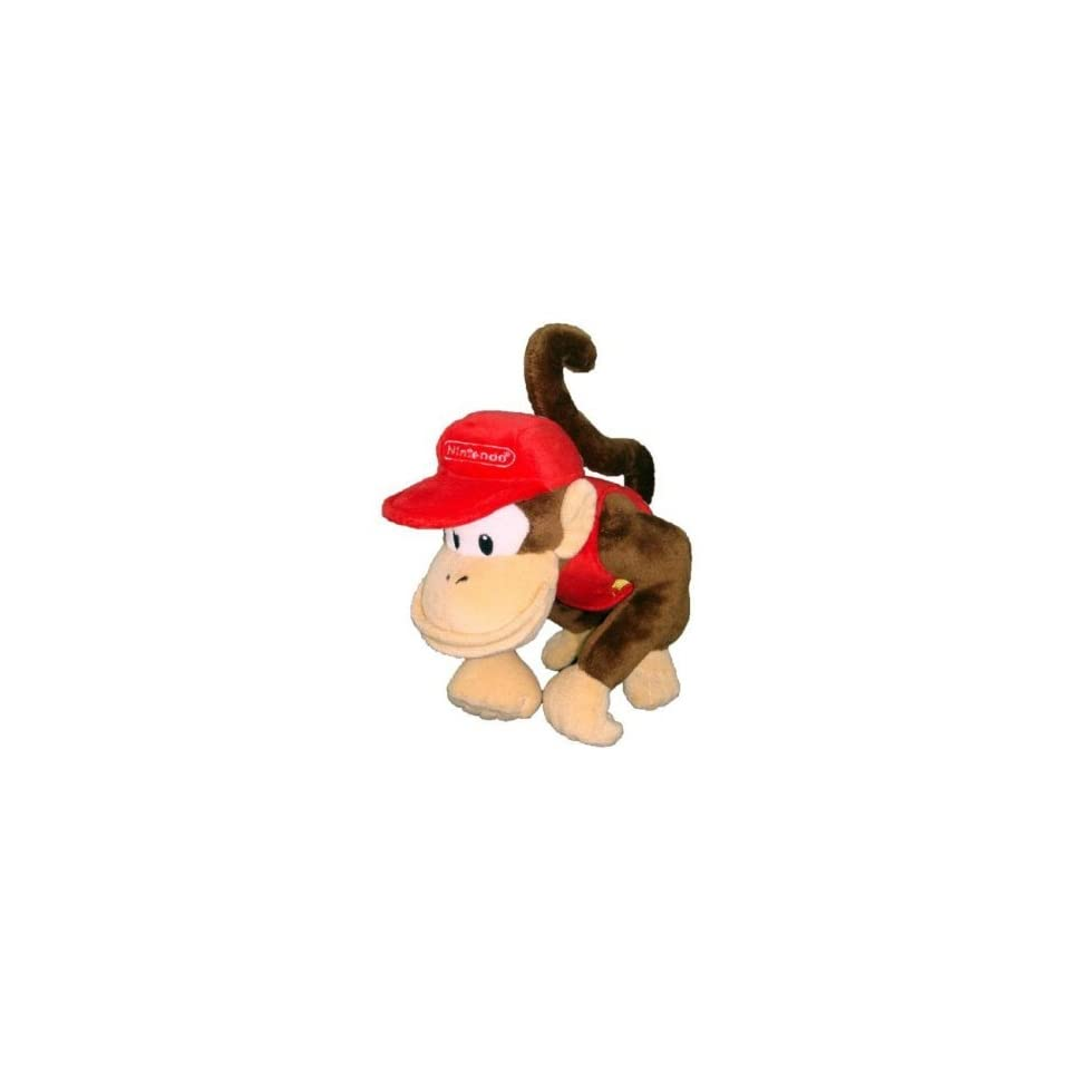 Nintendo Super Mario Bros. Diddy Kong Plush Toys & Games