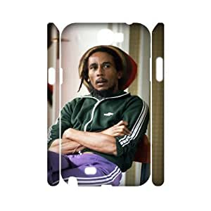 C-EUR Bob Marley Customized Hard 3D For Case Iphone 4/4S Cover
