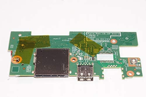 FMS Compatible with 23G91 Replacement for Dell I//O Power Button Board I7573-7012GRY-PUS