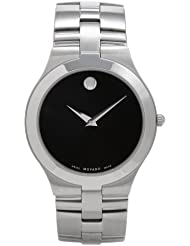 Movado Mens 605023 Juro Stainless-Steel Watch