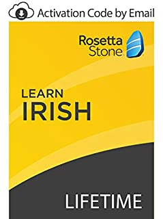 Rosetta Stone: Learn Irish with Lifetime Access on iOS, Android, PC, and Mac - mobile & online access [PC/Mac Online Code] (B07GJP2FL3) | Amazon price tracker / tracking, Amazon price history charts, Amazon price watches, Amazon price drop alerts