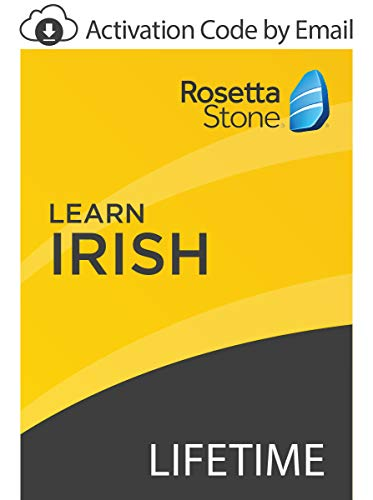Rosetta Stone: Learn Irish with Lifetime Access on iOS, Android, PC, and Mac [Activation Code by - Mac Windows Software 8 For