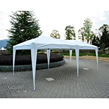 Outsunny Pop-up Party Tent Without Walls, 10'x 20'