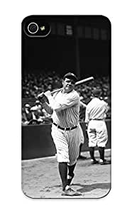 Blackducks High-quality Durability Case For Iphone 6 4.7Inch Cover(Babe Ruth New York Yankees)