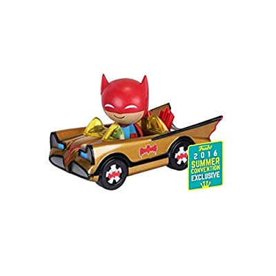 Funko Dorbz Rides 001 Gold Batmobile (SDCC/ Toy Tokyo 2016 Exclusive): Toys & Games