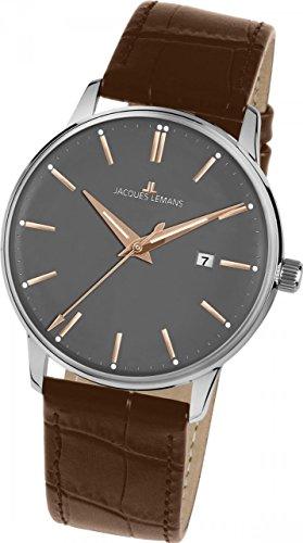 Jacques Lemans RETRO CLASSIC N-213S Mens Wristwatch Classic & Simple