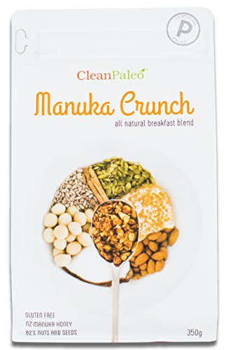 CleanPaleo Manuka Crunch Breakfast Cereal Blend (Grain Free, Gluten Free) Certified Paleo