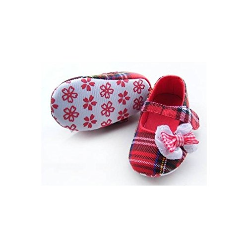 La panoplie Des Petits, Mädchen Babyschuhe - Krabbelschuhe & Puschen Rot rot 6-9 Monate