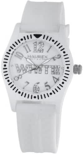 Haurex Italy Kids' PW331DW1 Promise G P White Dial Crystal Watch