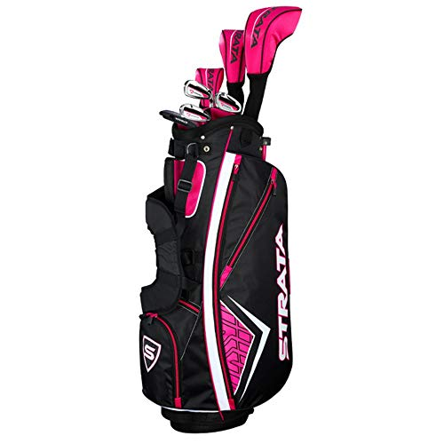 Callaway Women's Strata Complete Golf Set (11-Piece, Right Hand, Graphite) (Best Iron Set For Beginners 2019)