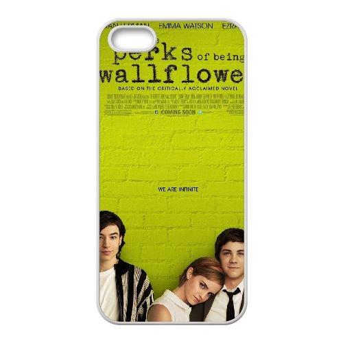 The Perks Of Being A Wallflower 1 coque iPhone 4 4S cellulaire cas coque de téléphone cas blanche couverture de téléphone portable EOKXLLNCD20209