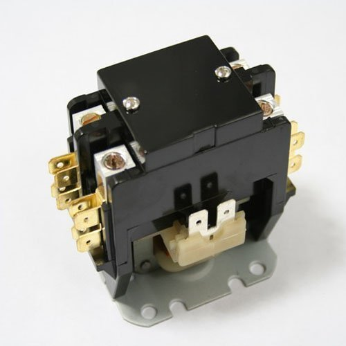 Replacement for Mars Mars2 Double Pole / 2 Pole 40 Amp 24v Condenser Contactor Relay 17425 by Mars - Contactor Relay