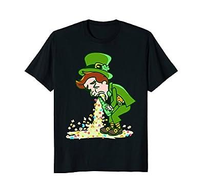 St Patricks Day T-Shirt - Saint Patty's Day Leprechaun Tee