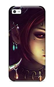 For Iphone 5c Protector Case Half Devil Lancer Phone Cover