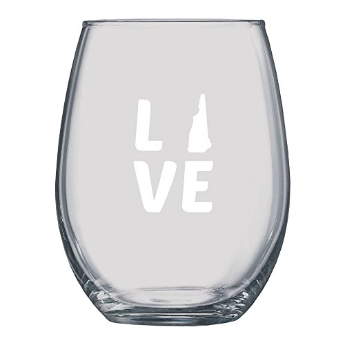 - LXG, Inc. New Hampshire Love Stemless Wine Glass