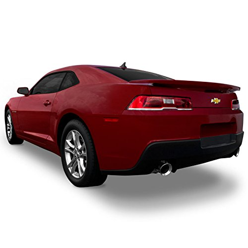 (Dawn Enterprises CAMARO14-FM Factory Style Flush Mount Spoiler Compatible with Chevrolet Camaro - Black WA8555 (GBA))