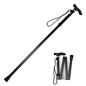 Evealyn-WalkingHikingTrekkingCamping-StickPoleCanes-Foldable-Collapsible-Portable-Lightweight-Adjustable-Hand-Walking-Cane-Mountaineering-Crutches-Outdoor-for-Men-Women-1