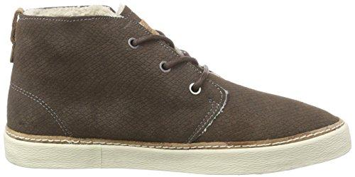O'Neill Kali suede - zapatillas deportivas altas de cuero mujer marrón - Braun (D19 Dark Brown)