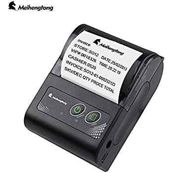 Amazon.com: NETUM Wireless Bluetooth Receipt Thermal Printer ...