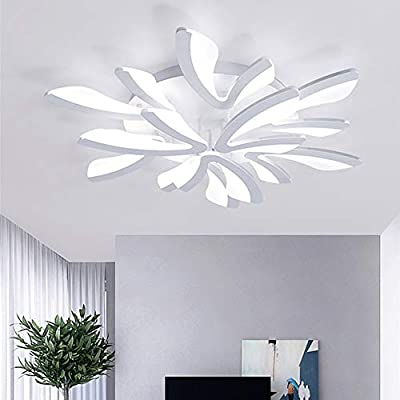 CUICAN Ceiling Lamps for Living Room Modern LED,Flush Mount Simple Creative Acrylic Lampshade Ceiling Lamp Bedroom Restaurants Lighting Fixture