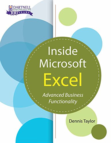 Inside Microsoft Excel: Advanced Business Functionality