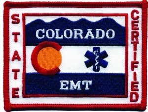 Lapd Uniform Costumes - COLORADO STATE EMT CERTIFIED - (Iron-On)