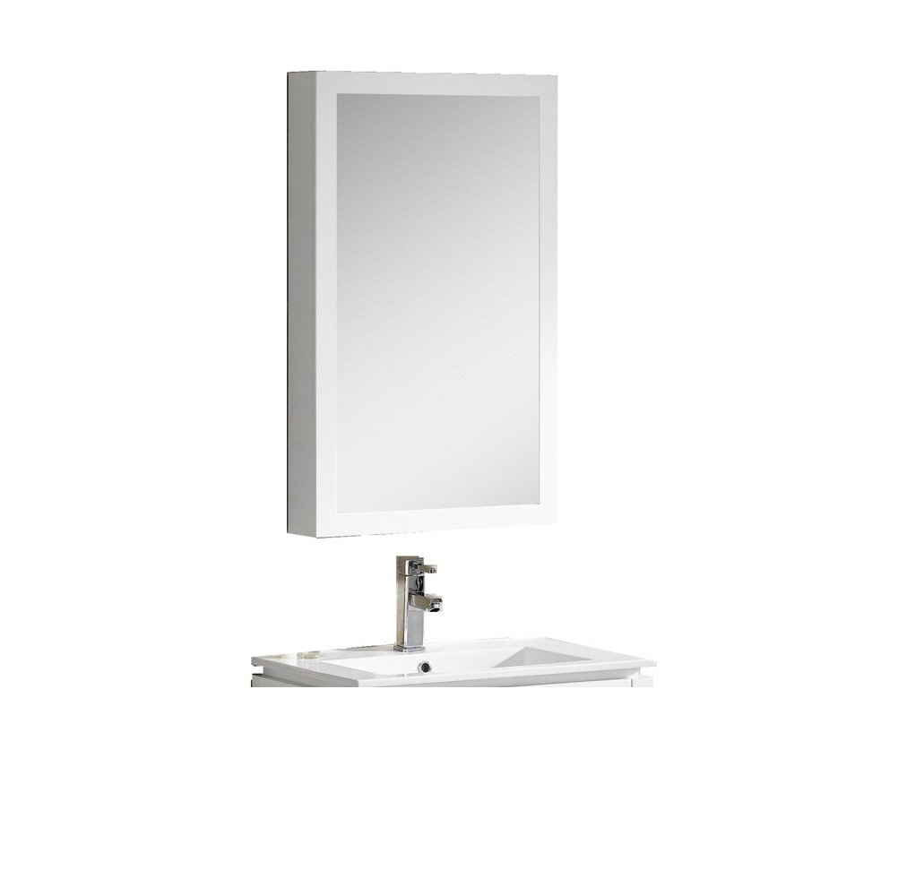 Fine Fixtures MAMC20WH Manchester Medicine Cabinet, 20'', White