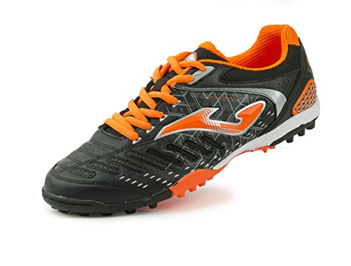 JOMA CALCETTO MAXIMA 601 BLACK-ORANGE FLUOR TURF 42