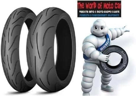 Paar Reifen Reifen Michelin Pilot Power Für Yamaha Xjr 1300 Gr Vorne 120 70 Zr 17 58 W Größe Hinten 180 55 Zr 17 73 W Dot 2016 Auto