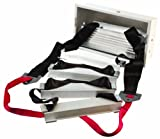 Werner ESC330 Fire Escape Ladder, Three Story