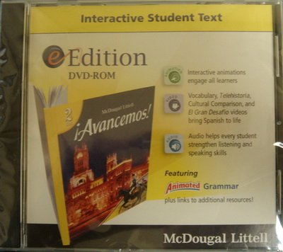 ?Avancemos!: eEdition DVD-ROM 2007 (Spanish Edition)