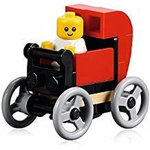 LEGO City Minifigure: bebé (en color rojo) de de carriola de bebé Set 10243