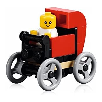 Amazon.com: LEGO City MiniFigure: Baby (in Red Baby