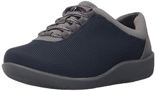 12 M US Women's CLARKS Navy Shoe Mesh Walking Sillian Pine 8qzdxqw0