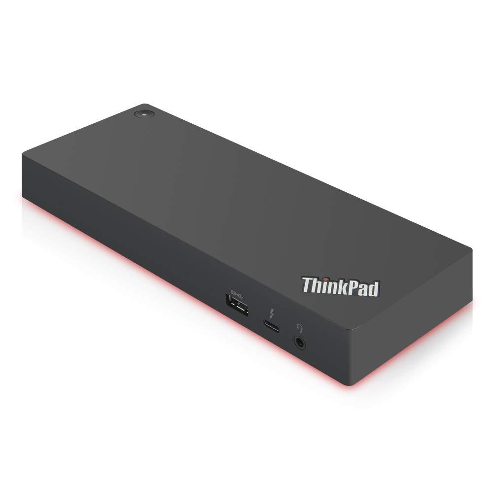 Lenovo ThinkPad Thunderbolt 3 Dock Gen 2 135W (40AN0135US) Dual UHD 4K Display Capability, 2 HDMI, 2 DP, USB-C, USB 3.1 by Lenovo USA (Image #3)