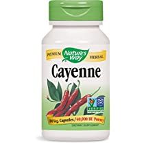 Nature's Way Cayenne Pepper 40,000 HU 100 Count (Pack of 3)