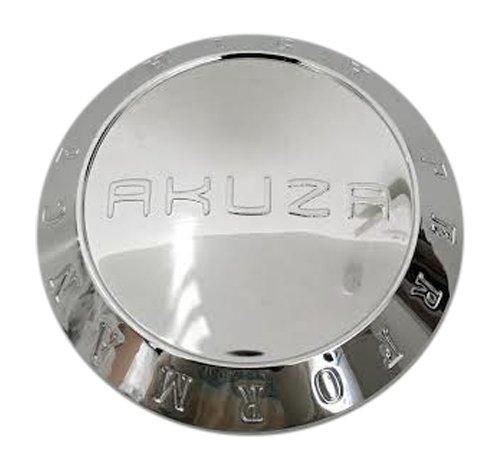 Akuza Wheels PCW-8CAP PCW-8 EMR0771-TRUCK-1 Chrome Wheel Center Cap