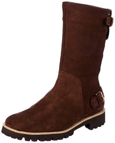 clásicas Botas de Högl Marrón fashion 22000 mujer terciopelo 6 2200 Praline GmbH 102242 Braun shoe U04qUY
