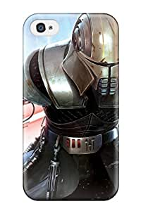 Fashionable Style YY-ONE Skin For Iphone 4/4s- Star Wars The Force Unleashed
