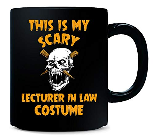 This Is My Scary Lecturer In Law Costume Halloween Gift - Mug -