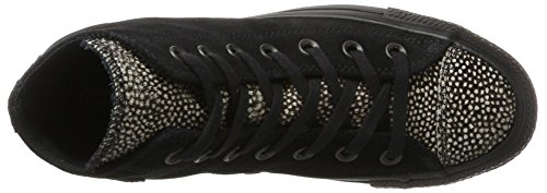 Black Converse Black Top Adults' Black Trainers Taylor Hi Chuck 001 All Unisex Star Black vTfw1q